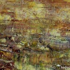 Arte: ELENA TITO NACE EN VILLAJOLLOSA OBRA MATERIALES NATURALES Y TEC/MIXS/MADERA T/PAISAJEII ME122X140 CM. Lote 68637233