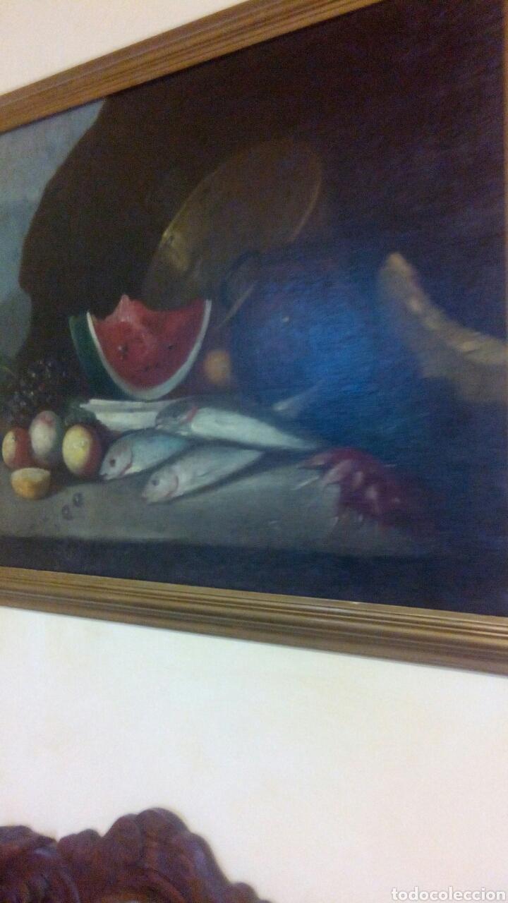 BODEGON SIGLO XVIII, ESCUELA MADRLEÑA (Arte - Pintura - Pintura al Óleo Antigua siglo XVIII)