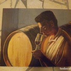 Arte: BELLISIMA PINTURA AL OLEO FIRMADA:DE LARA. Lote 68943593