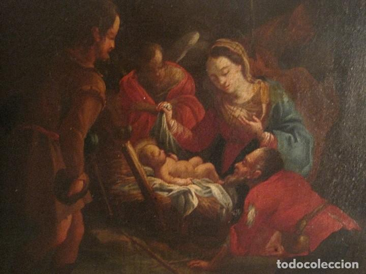 Arte: EXCEPCIONAL OLEO SOBRE LIENZO. GUILLERMO MESQUIDA, PINTOR BARROCO S. XVIII - Foto 2 - 68974333
