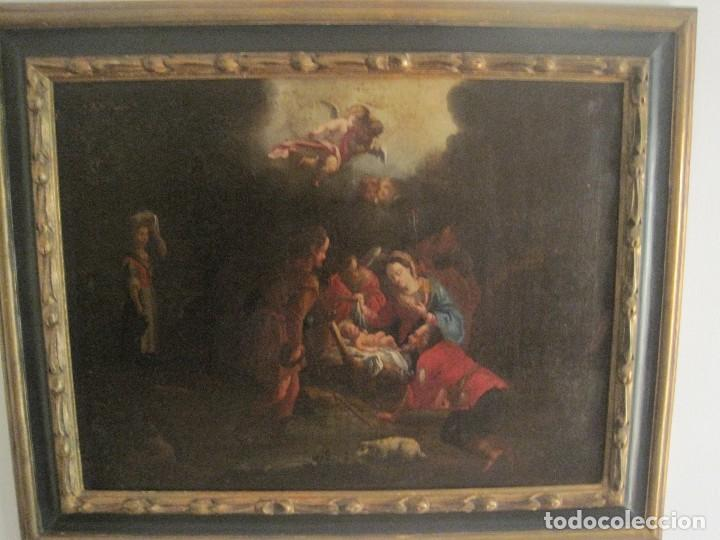 Arte: EXCEPCIONAL OLEO SOBRE LIENZO. GUILLERMO MESQUIDA, PINTOR BARROCO S. XVIII - Foto 3 - 68974333