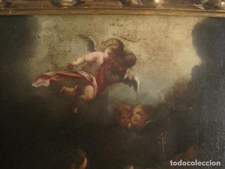Arte: EXCEPCIONAL OLEO SOBRE LIENZO. GUILLERMO MESQUIDA, PINTOR BARROCO S. XVIII - Foto 4 - 68974333
