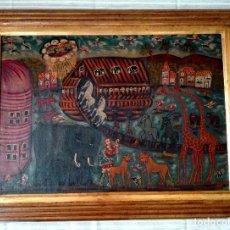 Arte: PINTURA COLONIAL DEL ARCA DE NOÉ. Lote 68999777