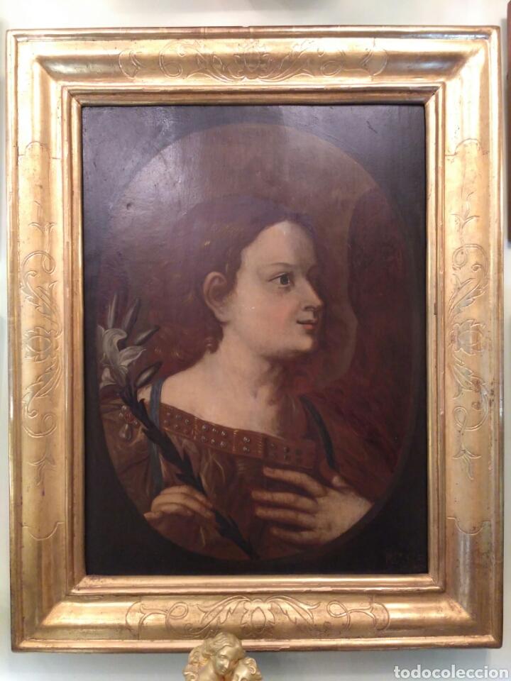 PINTURA ÓLEO SOBRE TABLA DE ISAAC PALING (1630-1719) (Arte - Pintura - Pintura al Óleo Antigua siglo XVIII)
