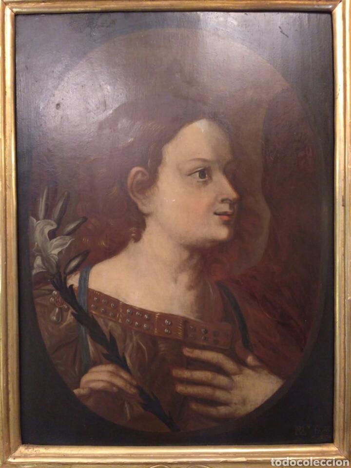 Arte: Pintura óleo sobre tabla de Isaac Paling (1630-1719) - Foto 2 - 69046362