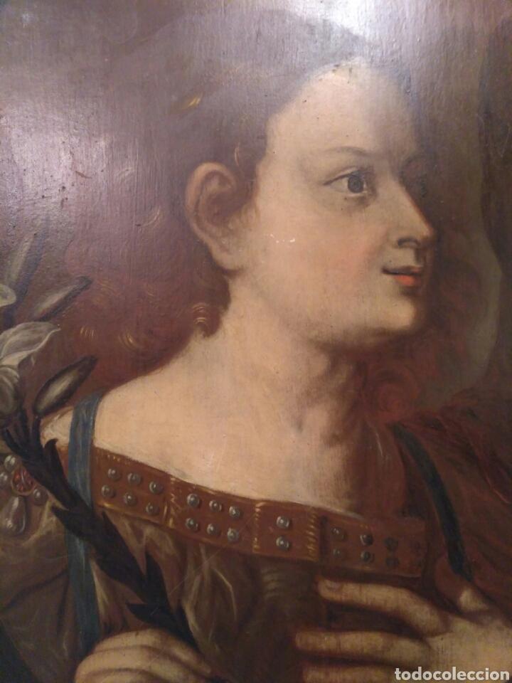 Arte: Pintura óleo sobre tabla de Isaac Paling (1630-1719) - Foto 3 - 69046362