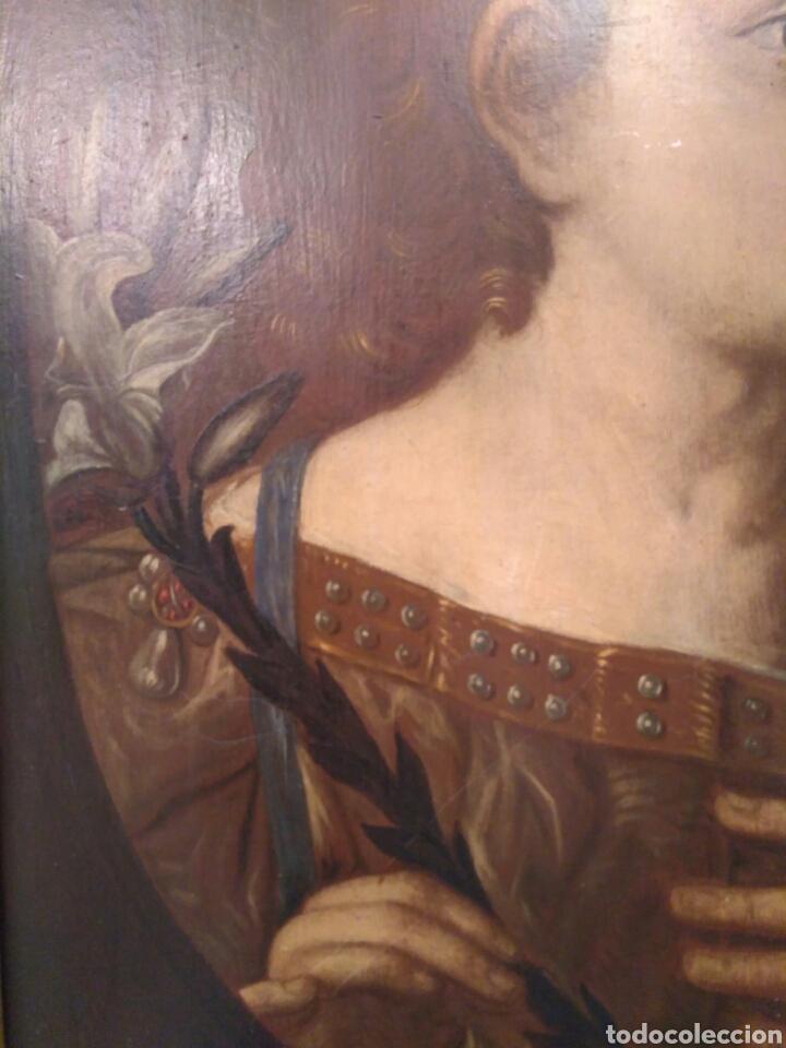 Arte: Pintura óleo sobre tabla de Isaac Paling (1630-1719) - Foto 4 - 69046362