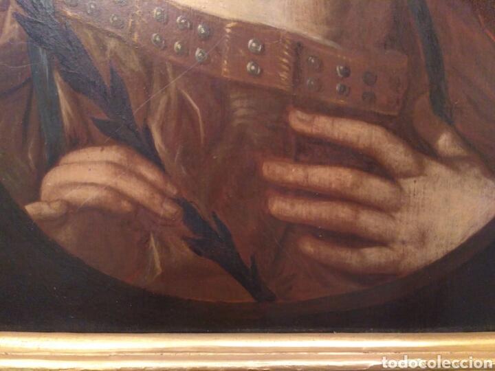 Arte: Pintura óleo sobre tabla de Isaac Paling (1630-1719) - Foto 5 - 69046362