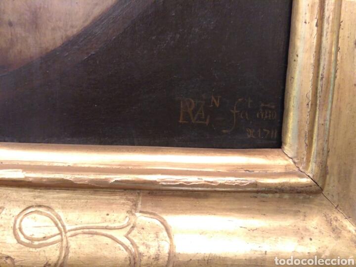 Arte: Pintura óleo sobre tabla de Isaac Paling (1630-1719) - Foto 6 - 69046362