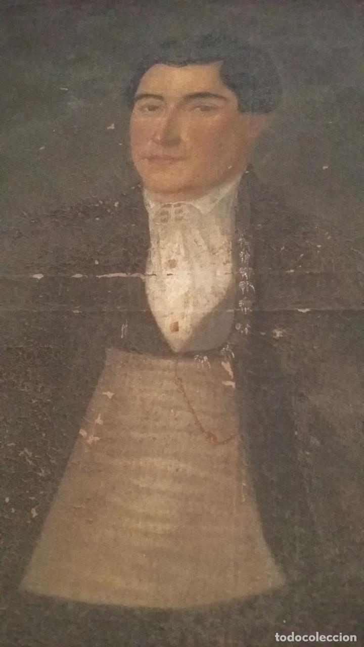 Arte: retrato antiguo año 1850 - Foto 6 - 40858212