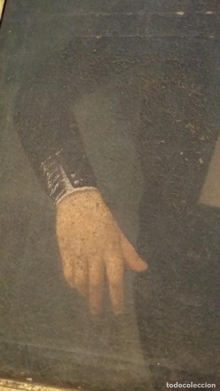 Arte: retrato antiguo año 1850 - Foto 7 - 40858212