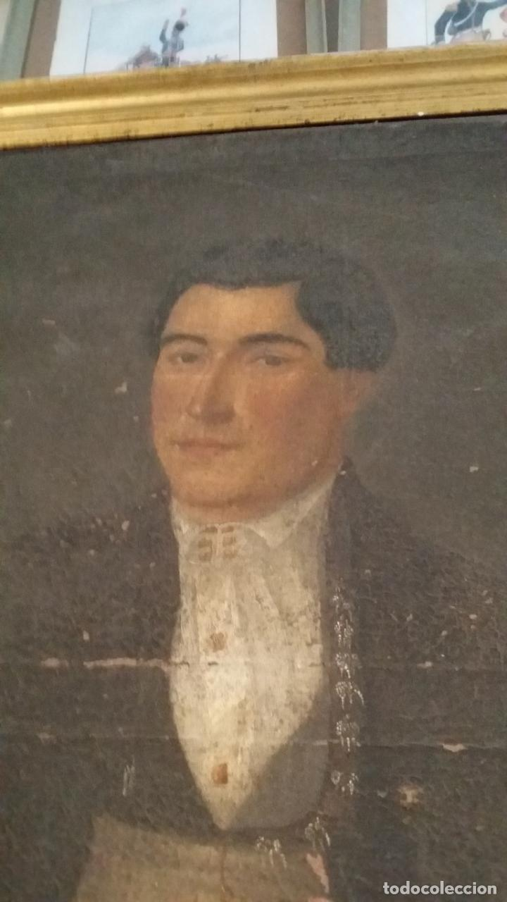 Arte: retrato antiguo año 1850 - Foto 8 - 40858212
