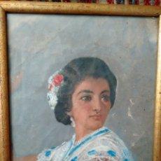 Arte: CUADRO PINTADO AL OLEO GRANDES DETALLES DE PINTOR DESCONOCIDO. Lote 69751478