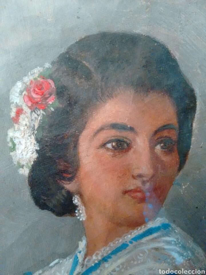 Arte: Cuadro pintado al oleo grandes detalles de pintor desconocido - Foto 2 - 69751478