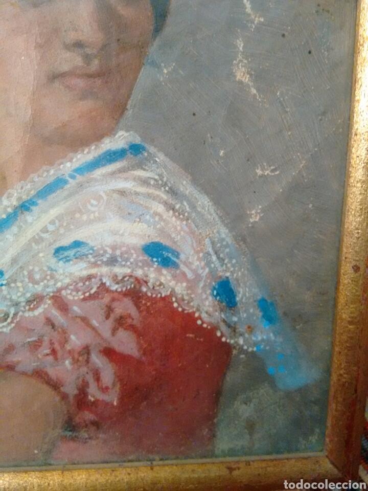 Arte: Cuadro pintado al oleo grandes detalles de pintor desconocido - Foto 8 - 69751478