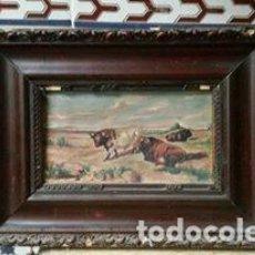 Arte: CUADRO TOROS. Lote 69787065