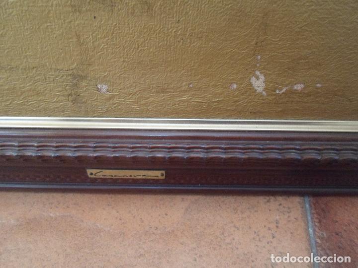 Arte: ÓLEO EN PAN DE ORO DE JOSE CASANOVA CON CERTIFICADO - Foto 3 - 47530039