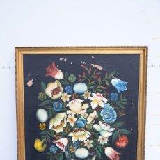 Oleo Jarron de flores.Firmado por Fernando Rodriguez 66 x 86.