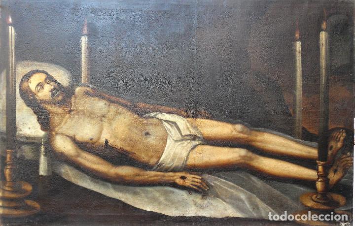LA MUERTE DE CRISTO. REF. 81 (Arte - Pintura - Pintura al Óleo Antigua siglo XVI)