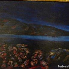 Arte: MERCEDES RUIBAL. (PONTEVEDRA 1928-2003) OS DA RIA.. Lote 70375909
