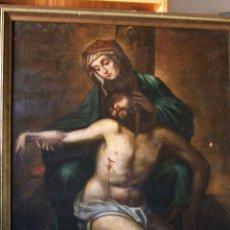 Arte: PINTURA ESPAÑOLA DEL SIGLO XVIII. PIEDAD. NUEVO PRECIO.. Lote 4343816