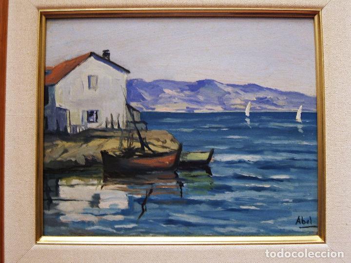 Pintura espa ola 2 cuadros paisaje y marina comprar for Comprar cuadros al oleo