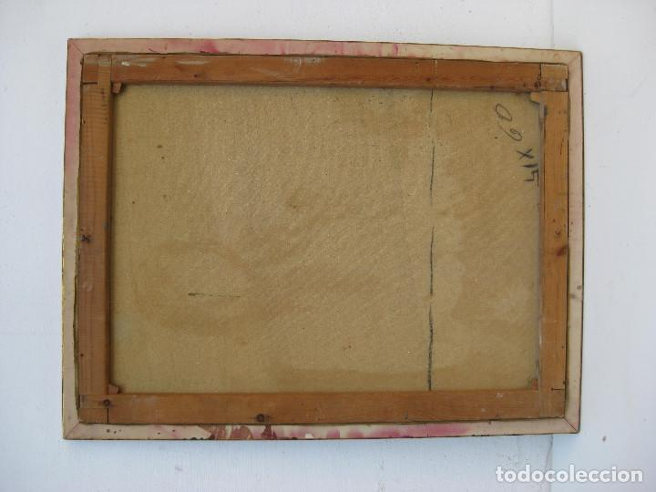 Arte: PRECIOSA PINTURA CUADRO ANTIGUO OLEO LIENZO BONITA GITANA FIRMADO A MONTOYA CIRCA 1940 - Foto 5 - 71651135