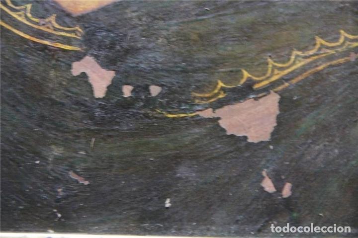 Arte: CRISTO CON CORONA DE ESPINO. ÓLEO SOBRE COBRE. BARROCO. SIGLOS XVI-XVII - Foto 7 - 71770095