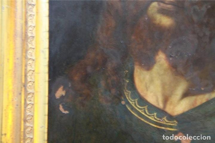 Arte: CRISTO CON CORONA DE ESPINO. ÓLEO SOBRE COBRE. BARROCO. SIGLOS XVI-XVII - Foto 10 - 71770095