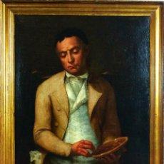 Art - RETRATO DE CABALLERO. ÓLEO SOBRE LIENZO. SEGUIDOR DE GOYA. ESPAÑA- XVIII-XIX - 72490799