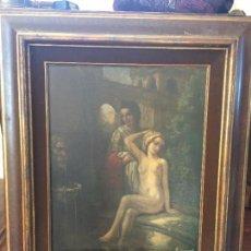 Arte: OLEO SOBRE LIENZO, FIRMADO H.V.D. VELDE. OIL ON CANVAS, SIGNED H.V.D. VELDE.. Lote 72761531