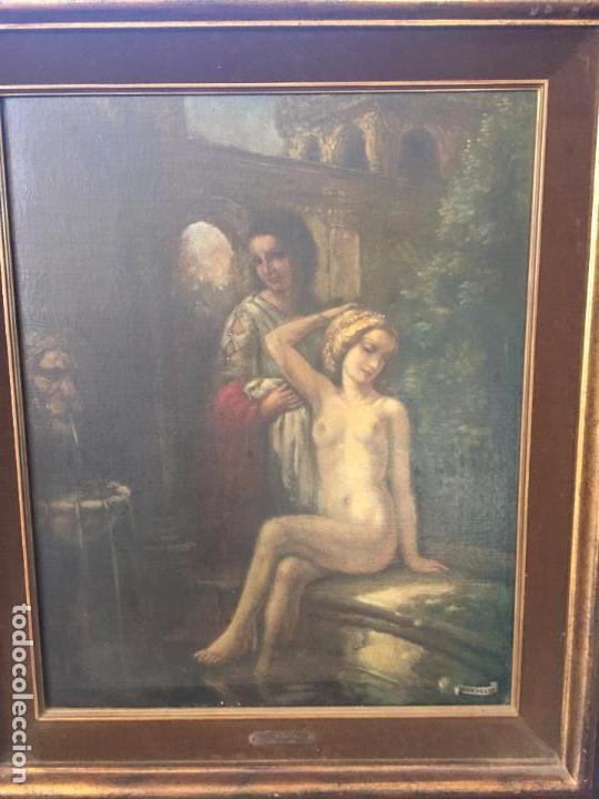 Arte: Oleo sobre lienzo, firmado H.V.D. Velde. Oil on canvas, signed H.V.D. Velde. - Foto 4 - 72761531
