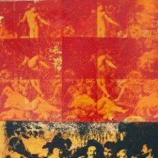 Arte: RUPERTO CABRERA ARTISTA NACIDO EN LA LAGUNA, TENERIFE O/SCRREN/LINO AÑO 1999/2000 MED 1,30X1,00 FIRM. Lote 72782199