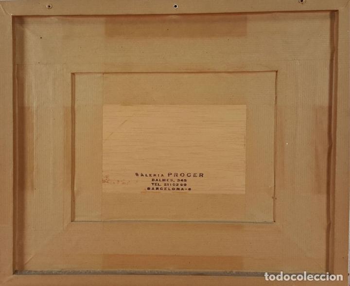 Arte: PAISAJE. ÓLEO SOBRE TABLA. FIRMADO RAMON SANVISENS. SIGLO XX. - Foto 2 - 151261120