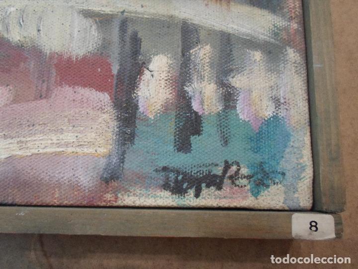 Arte: PINTURA EXPRESIONISTA CON FIRMA ILEGIBLE PROBABLEMENTE DE BOLÓS - Foto 2 - 58260309