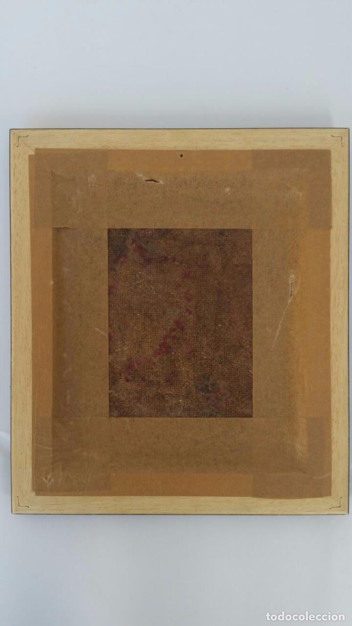 Arte: Bonito oleo sobre tabla - Firmado Lafuente - Enmarcado - 21,5 x 24,5 cm - Foto 4 - 73288819