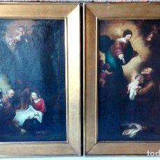 Arte: CUADROS ESCUELA ESPAÑOLA SIGLO XVIII. ÓLEO SOBRE LIENZO. Lote 73465587