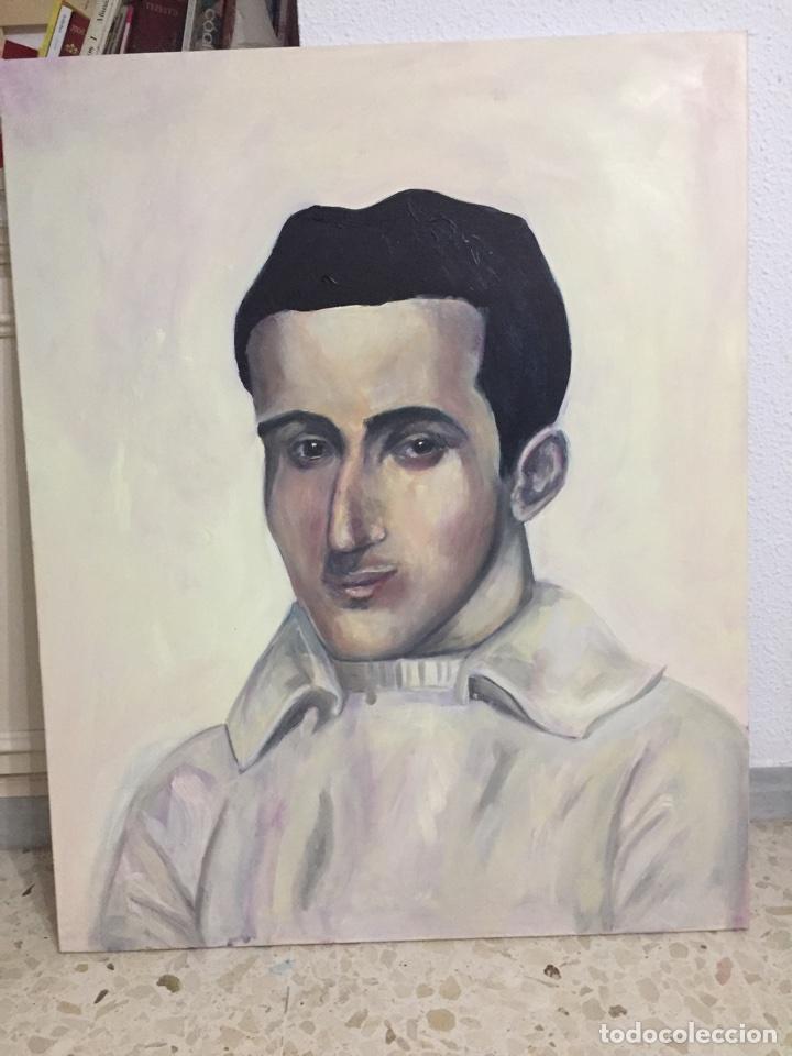 Arte: Óleo sobre lienzo, realizado con veladuras. 65x81cm interpretación sorolla - Foto 2 - 73586178