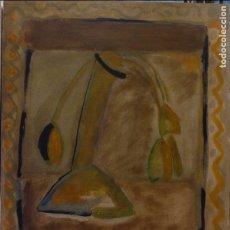 Arte: XOTI DE LUIS (VIGO 1953) TULIPANES. OLEO SOBRE LIENZO.. Lote 73743811
