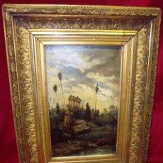 Arte: PEDRO SAENZ SAENZ, PINTOR MALAGUEÑO (MÁLAGA, 1863-1927). Lote 73983291