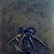 Arte: PINTOESCULTURA DE LORNA MARSH OBRAS EN MUSEOS REINA SOFIA Y EXPOSICIONES EN ESPAÑA MED 51X41CM. Lote 74168479