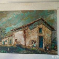 Arte: BONITO ÓLEO SIBRE LIENZO FIRMADO. Lote 74311543