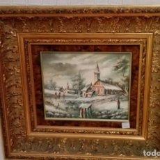 Arte: BONITO ÓLEO SOBRE LIENZO, FIRMADO. Lote 74362071