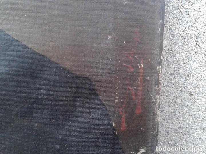 Arte: Domingo Soler Gili 1898, retrato de caballero, oleo sobre lienzo - Foto 6 - 74645943
