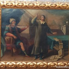 Arte: ÓLEO S/TABLA. SIGLO XVI. ESCUELA ESPAÑOLA ALTA ÉPOCA. DIMENSIONES.- 93,5X76.5 CMS. Lote 75062779