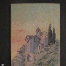 Arte: PINTURA AÑO 1925 - VER FOTOS -(V-8760). Lote 75230223
