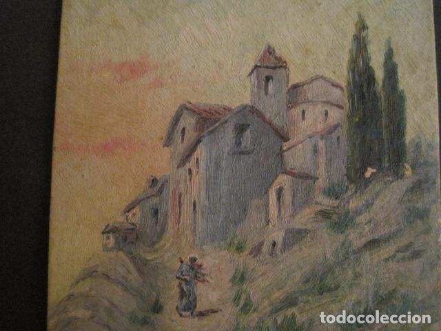 Arte: PINTURA AÑO 1925 - VER FOTOS -(V-8760) - Foto 4 - 75230223