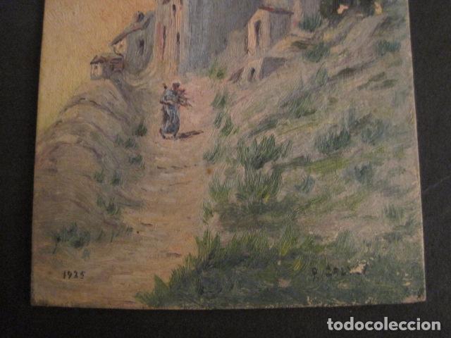 Arte: PINTURA AÑO 1925 - VER FOTOS -(V-8760) - Foto 6 - 75230223