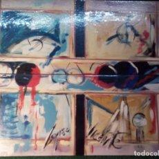 Arte: GREGORIO LOPEZ -PRECIOSOS CUADROS AL OLEO. Lote 75617823