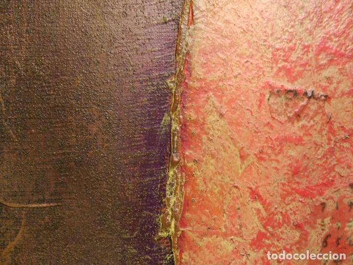 MONTSERRAT LACOMBA, ÓLEO Y TÉCNICA MIXTA SOBRE TELA ETIQUETA GALERÍA AGORA 3 (Arte - Pintura - Pintura al Óleo Contemporánea )
